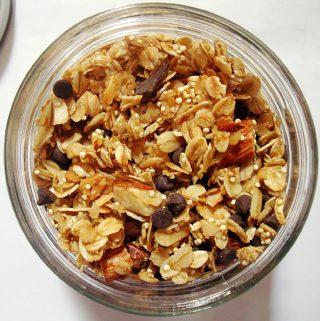 Chocolate and Almond Granola