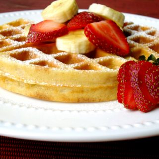 Overnight Yeasted Waffles