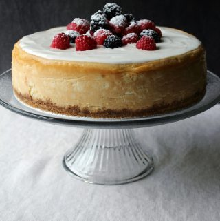 New York Cheesecake (…and some musings)