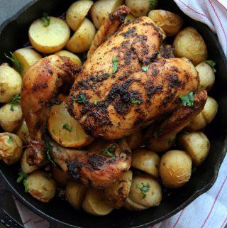 Eid Eats 2016:  Zesty Spice Roasted Chicken