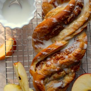 Apple Twist Bread