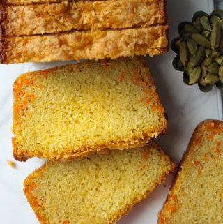 Carrot Cardamom Cake (aka Gajar Ka Halwa Cake!)