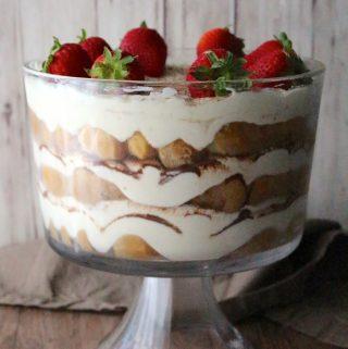 Tiramisu Trifle (Non-Alcoholic)