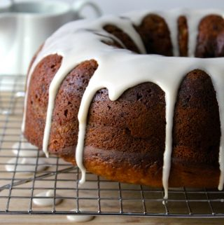 Cinnamon Swirl Banana Bundt Cake