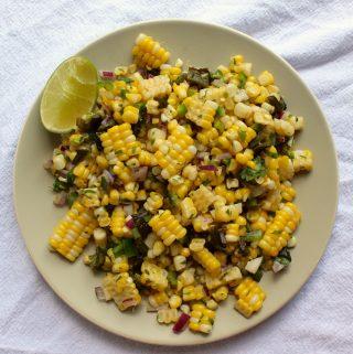 Fresh Corn Salsa (Chipotle Copycat!)