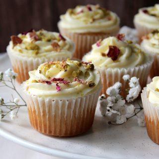 Ras Malai Cupcakes