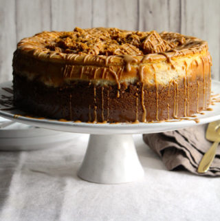 Cookie Butter Cheesecake (Biscoff Cheesecake)