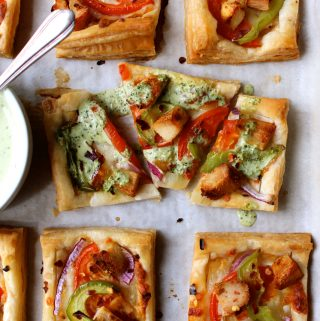 Chicken Tikka Tarts