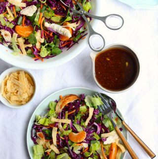 Asian Chicken Salad with Soy Ginger Dressing