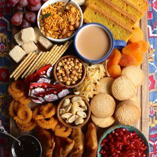 Pakistani Evening Tea Board / Shaam Ki Chai Board