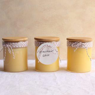 Homemade Ghee (Clarified Butter)